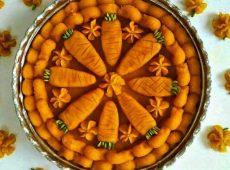 طرز تهیه حلوای هویج با آرد گندم