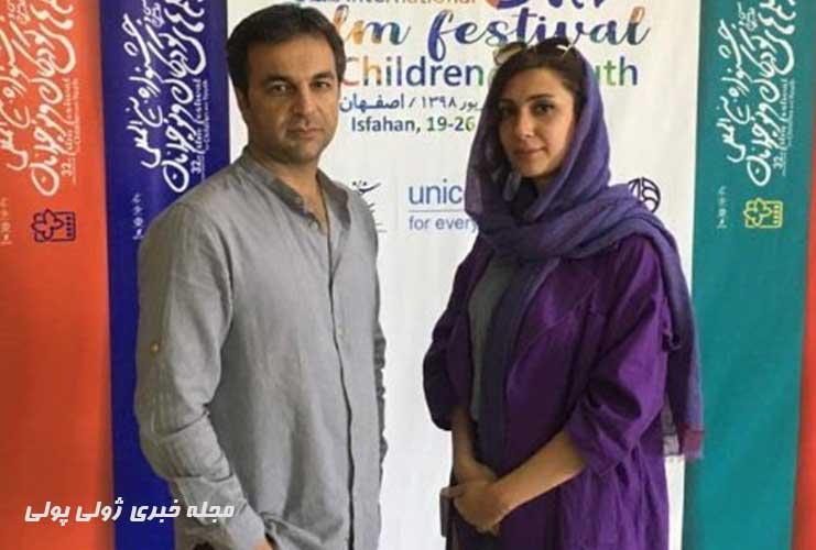 بیوگرافی بهزاد داوری و همسرش بهناز نادری بازیگر