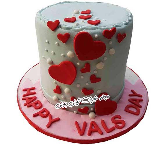 کیک ولنتاین جدید