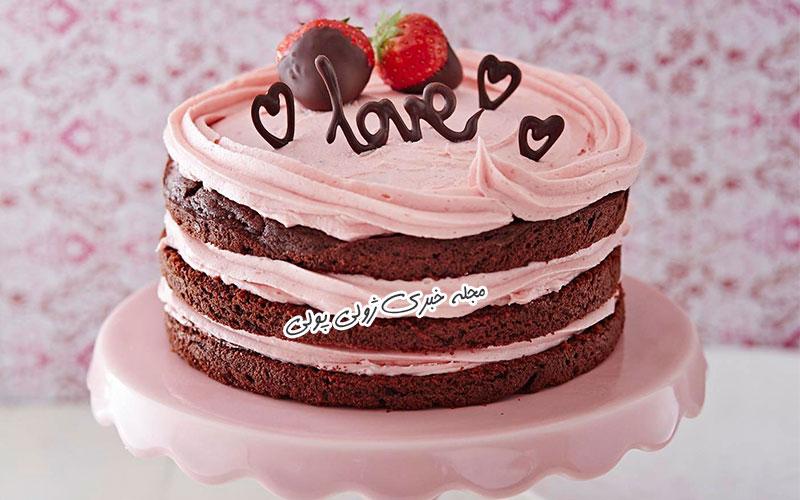 کیک ولنتاین خاص