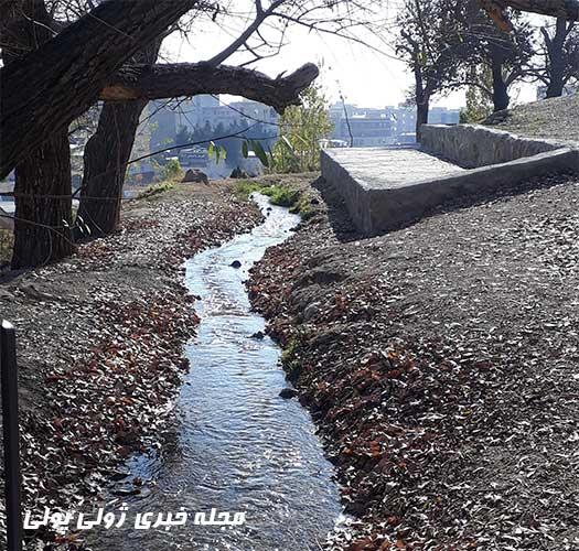 رودخانه در دهکده تفریحی باغستان