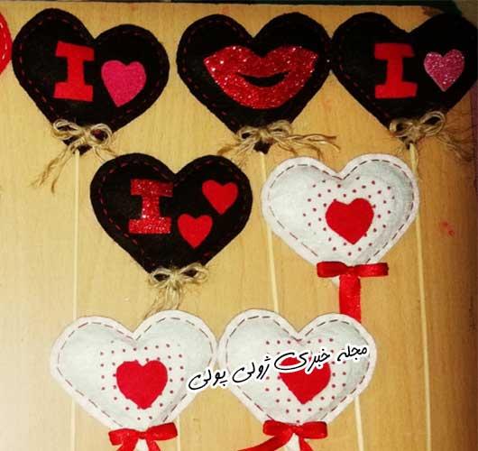 عروسک قلب ولنتاین