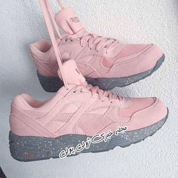 کفش کتونی لژدار دخترونه