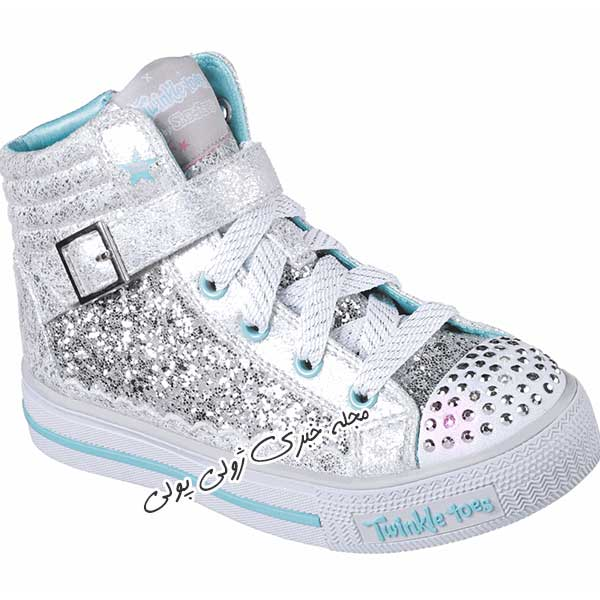 کفش کتونی ساقدار دخترونه