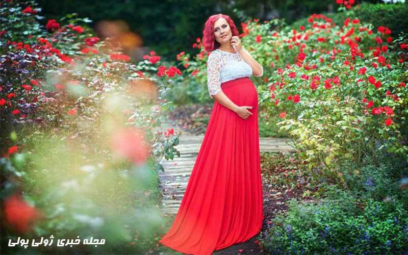 لباس حاملگی مجلسی