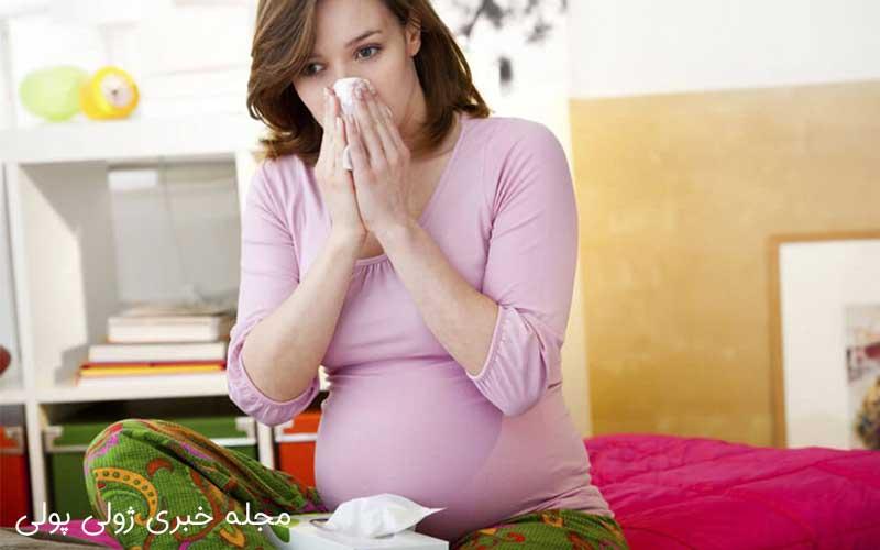 درمانهای خانگی سرماخوردگی بارداری