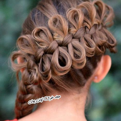 بافت موی پاپیونی