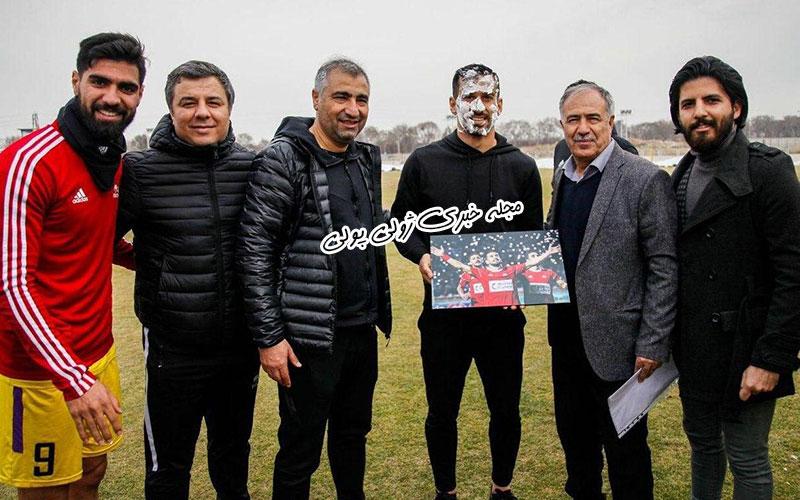 تولد احسان حاج صفی