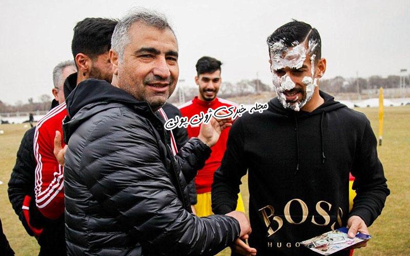 عکسهای تولد احسان حاج صفی