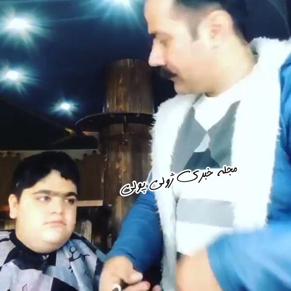 بازیگر بهروز سریال پایتخت