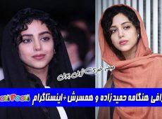 بیوگرافی هنگامه حمیدزاده و همسرش+ بازیگر نقش فرزانه در سریال بزنگاه