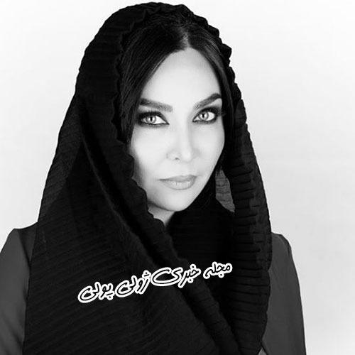 فقیهه سلطانی در چالش عکس سیاه و سفید