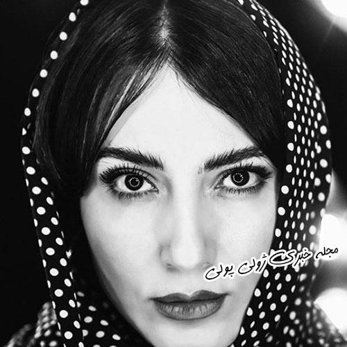 سمیرا حسن پور در چالش عکس سیاه و سفید