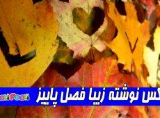 عکس نوشته تبریک فصل پاییز+ عکس پروفایل پاییز مبارک