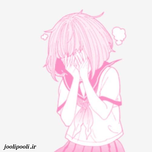 عکس غمگین دخترانه کارتونی