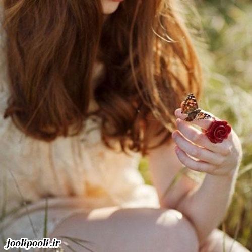 عکس دخترانه با موی بلوند برای پروفایل