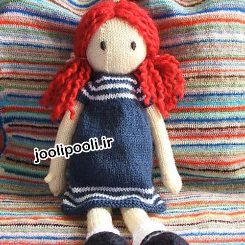 عروسک کاموایی دختر