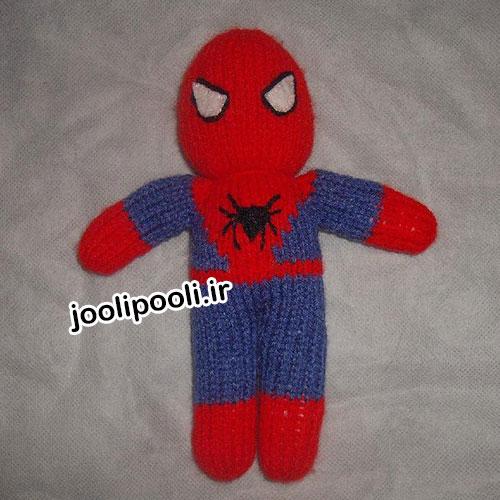 عروسک بافتنی مرد عنکبوتی (اسپایدر من)