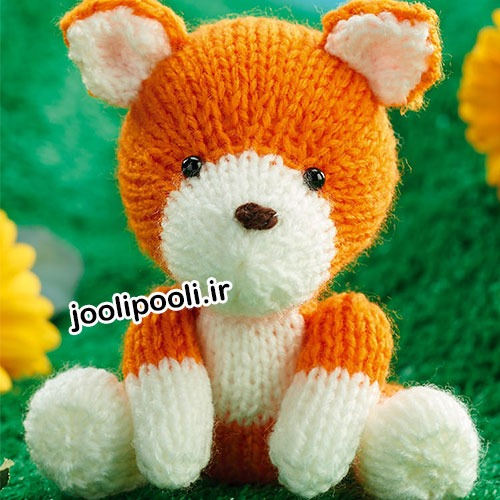 عروسک بافتنی روباه