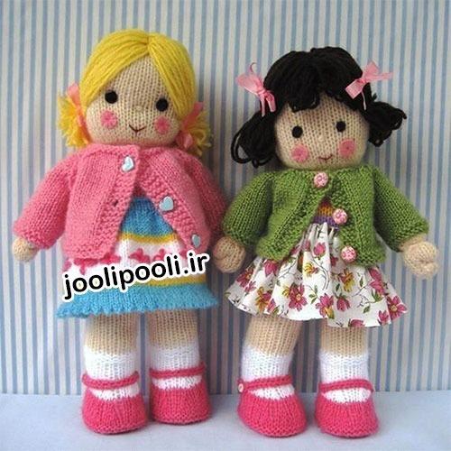 جدیدترین مدلهای عروسک کاموایی