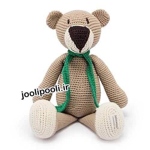 عروسک بافتنی خرس تدی