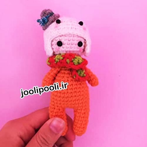 عروسک بافتنی پسر بچه