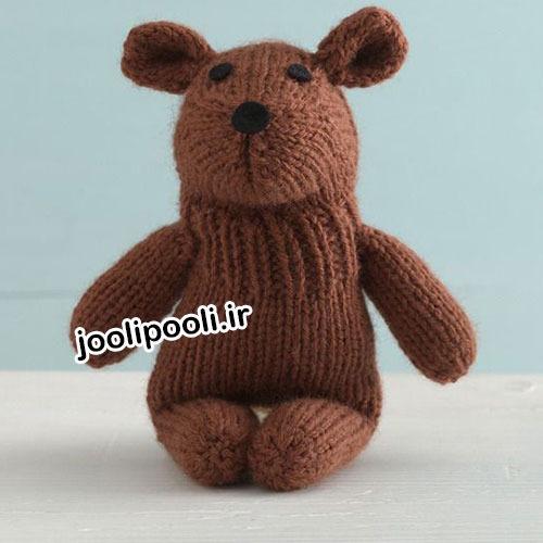 عروسک بافتنی موش