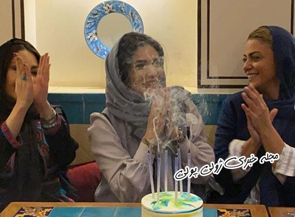 عکس جشن تولد لیندا کیانی