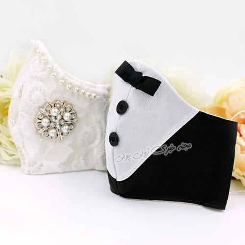 مدلهای ماسک عروس و داماد