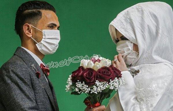 جدیدترین مدلهای ماسک عروس و داماد