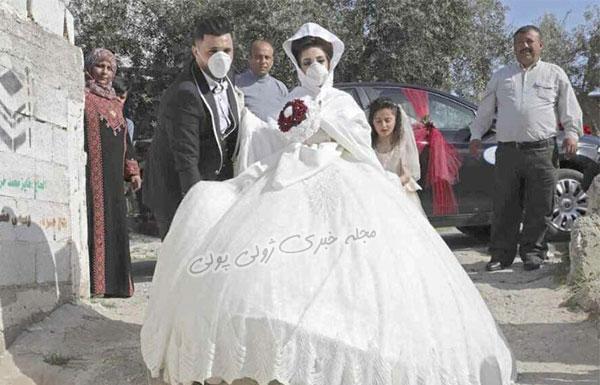زیباترین مدلهای ماسک عروس و داماد