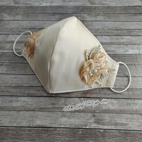 ماسک سفید ویژه مراسم عروسی