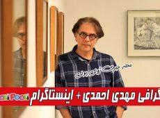 بازیگر نقش استاد حافی در سریال بوم و بانو کیست؟+ بیوگرافی مهدی احمدی و همسرش