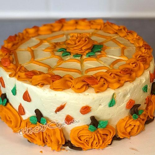 کیک پاییزی ساده