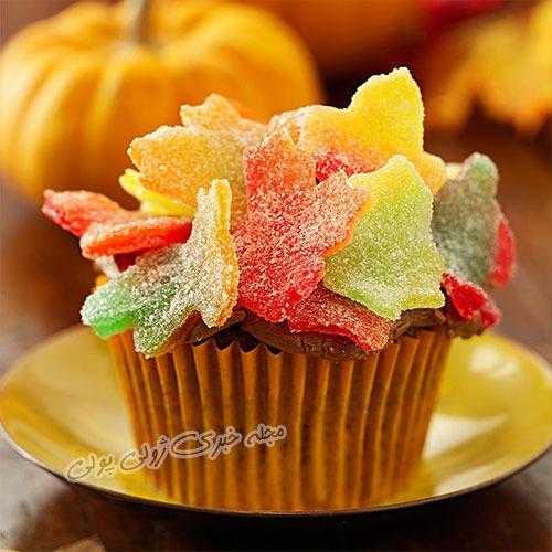 کاپ کیک پاییزی