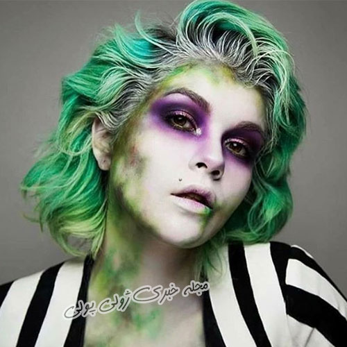 مدل آرایش هالووین