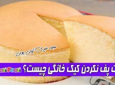 علت پف نکردن کیک چیست؟+ چرا کیک های خانگی پف نمی کنند؟
