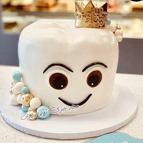 ایده برای کیک جشن دندونی کودک