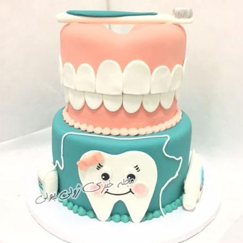 ایده هایی برای کیک جشن دندونی