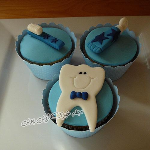 کاپ کیک جشن دندونی