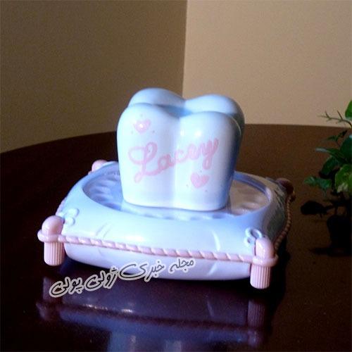 کیک برای جشن دندان