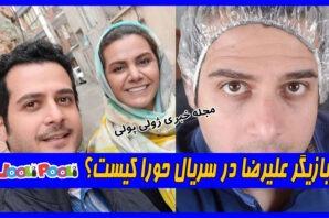 بازیگر نقش علیرضا در سریال حورا کیست؟+ بیوگرافی مهروز ناصر شریف