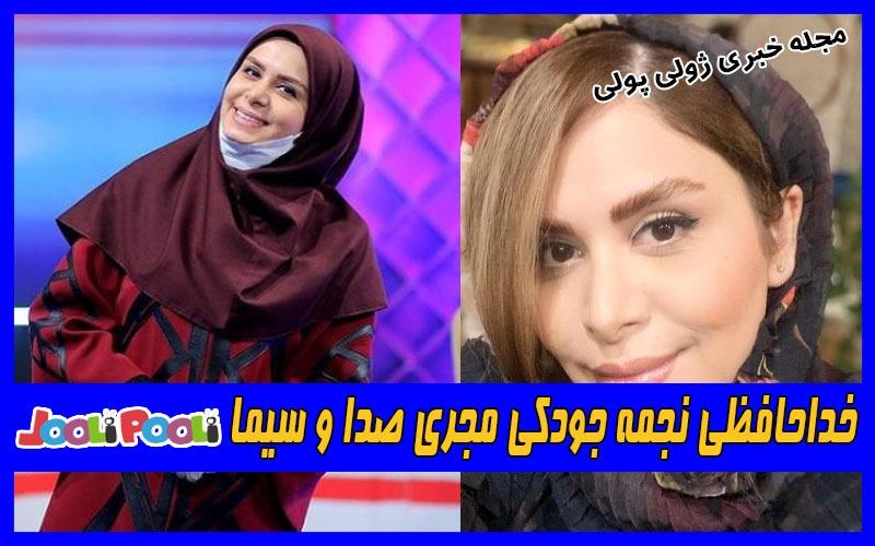 خداحافظی نجمه جودکی مجری صدا و سیما از تلویزیون+ عکس